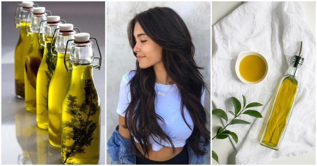 Mascarilla de aceite de oliva para mantener el brillo de tu melena