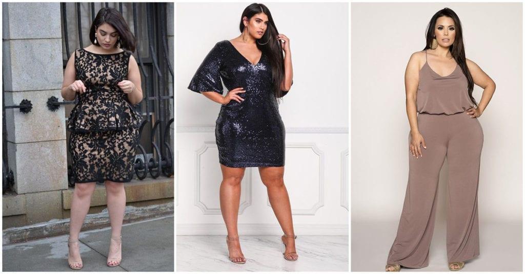 Curvy: Outfits bonitos de fiesta para lucir elegante