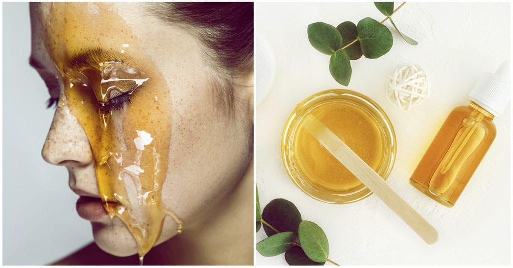 Los beneficios de ponerte una mascarilla de miel en el rostro