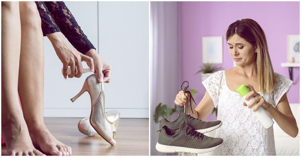 Te apestan… los zapatos, no te preocupes te doy varios trucos