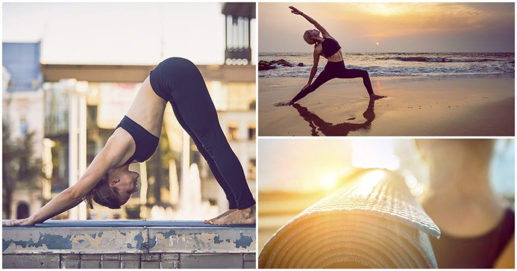 10 minutos de yoga para que despiertes con toda la actitud