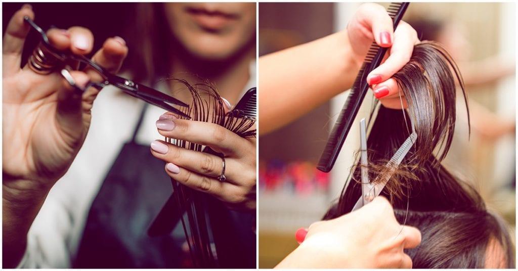 Cortar el cabello mojado o seco, ¿qué funciona?