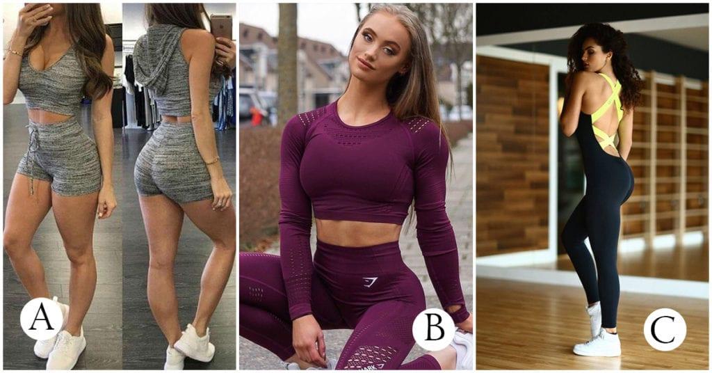 Outfits para sentirte como una diosa en el Gym