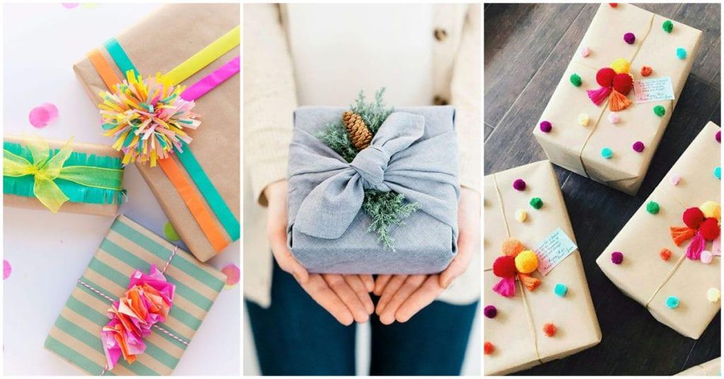 Cómo envolver tus regalos cuidando el medio ambiente ¡Los amo!