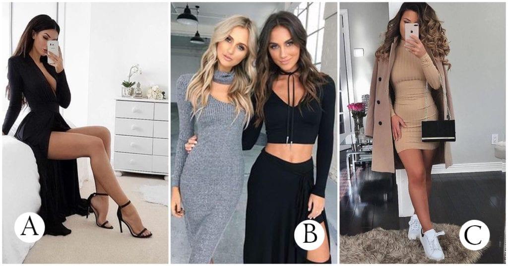 Vestidos chic para chicas a la moda ¿Cuál te gusta más?