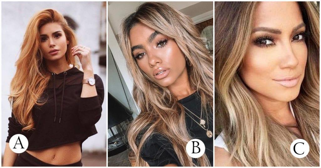 Estos son los tonos de cabello dorado ideales para las chicas morenitas