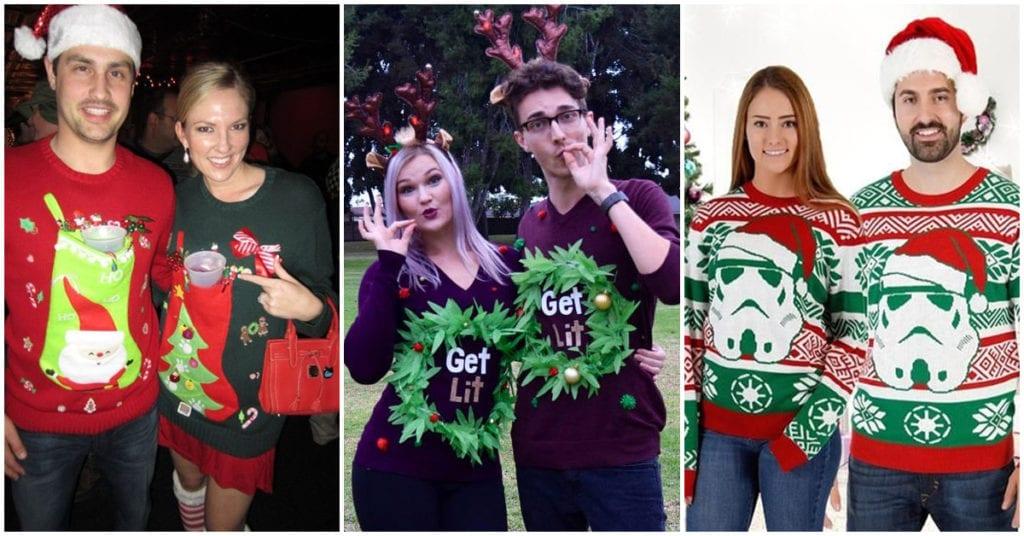 Sweaters navideños que puedes utilizar en pareja según su personalidad
