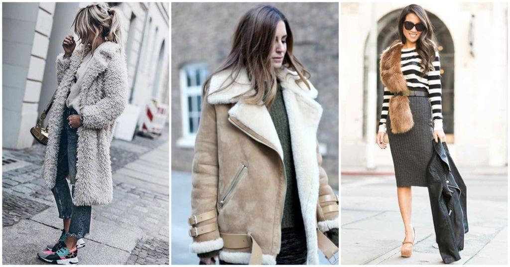 Chamarras y abrigos con peluche ¿Cómo usarlos?