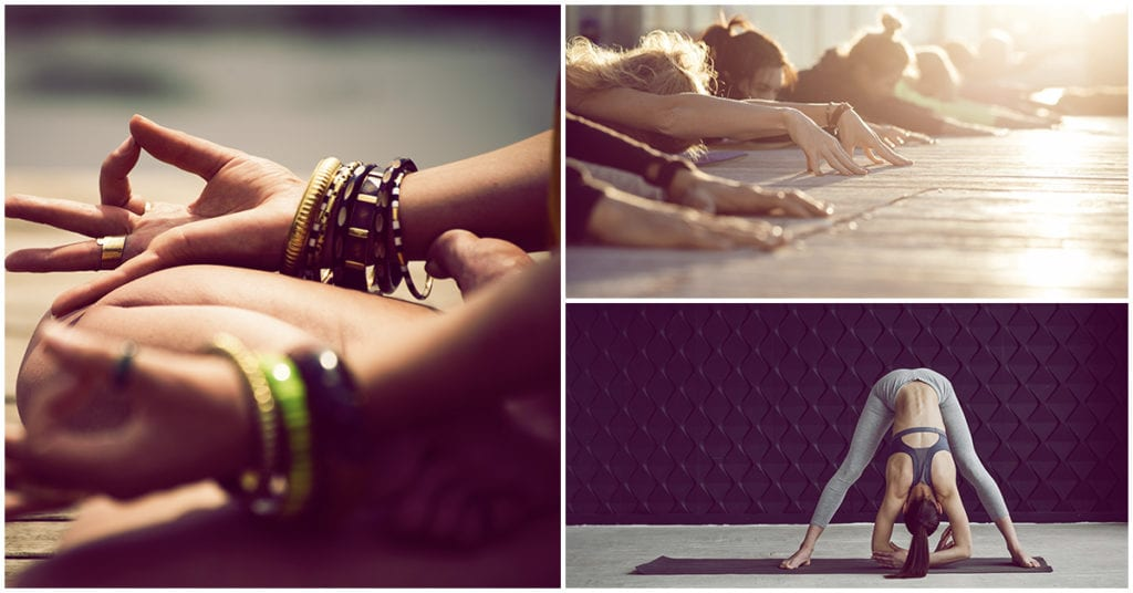 Posturas de yoga para olvidarte del estreñimiento