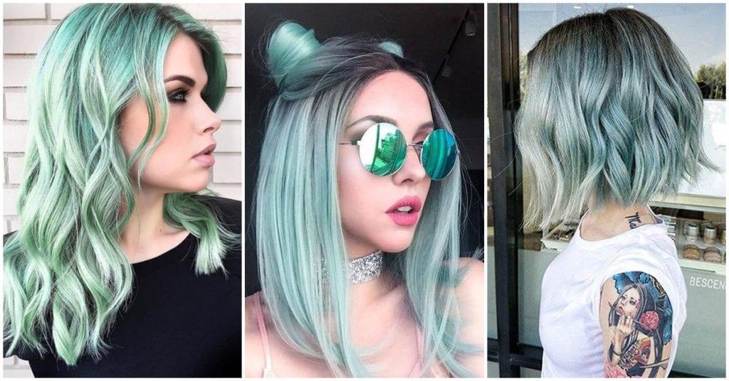 Mint: El tono de cabello ideal para cerrar este año