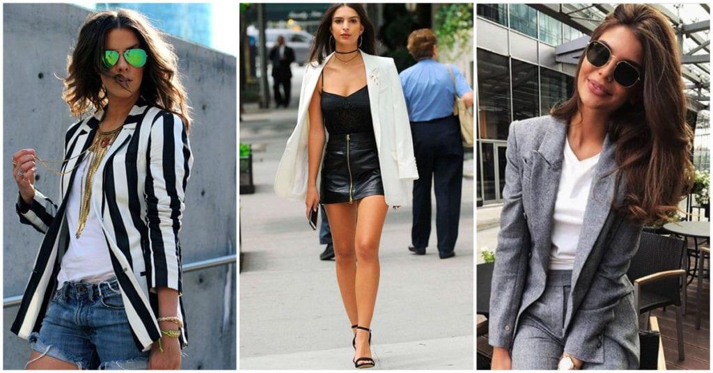 Aprende a escoger un blazer diferente para cada ocasión