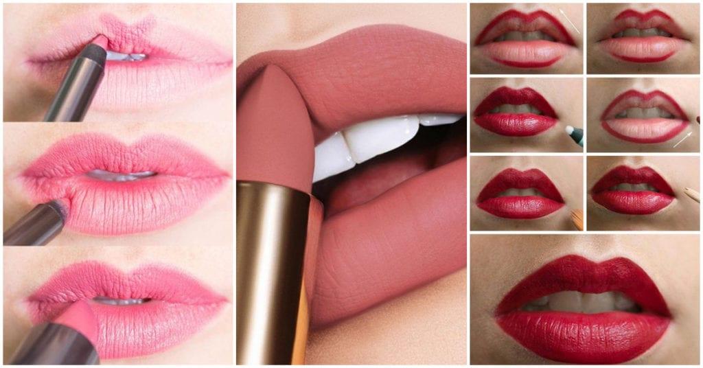 Cómo delinear tus labios paso a paso