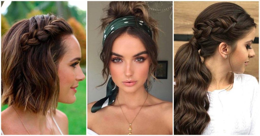 Peinados que te van a hacer lucir femenina y muy guapa en pocos minutos