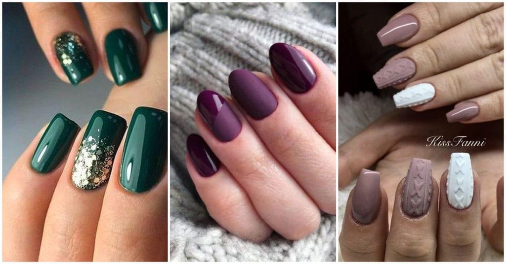 Colores de uñas que están de moda este invierno