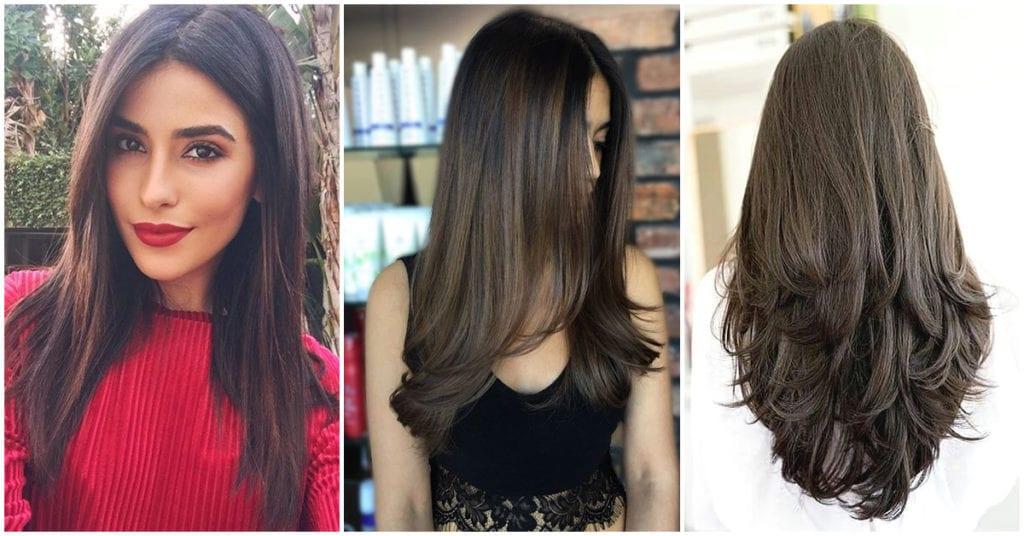 Diferentes cortes para cabello largo ¿Cuál te gusta?