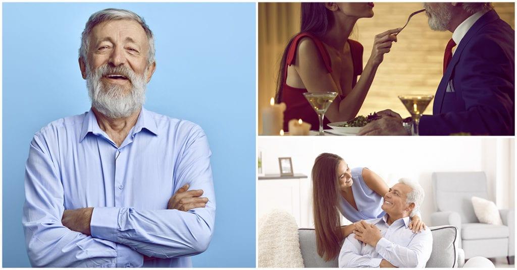 Hombres mayores con jovencitas ¿Porque las prefieren así?
