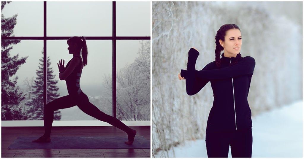 Cómo no dejar de hacer ejercicio en días de frío