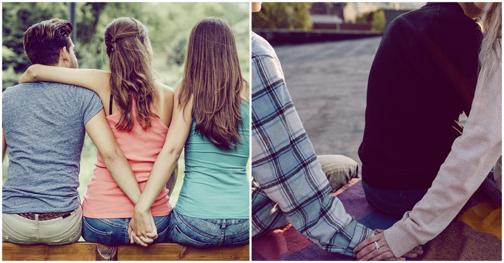 Se puede estar enamorada de dos personas a la vez … nos responde un psicólogo