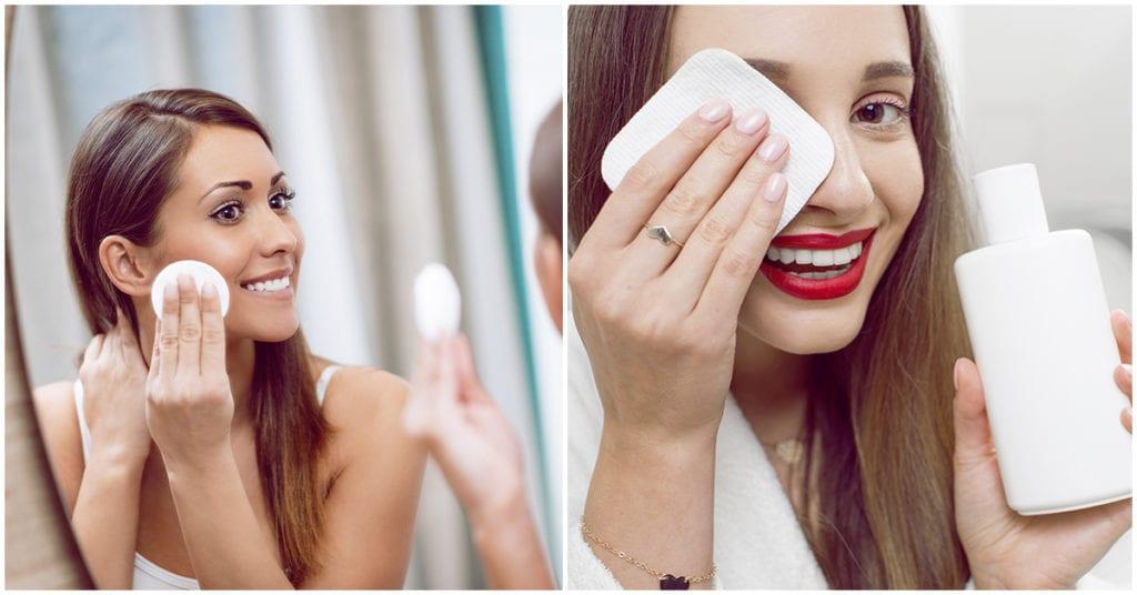 Estás removiendo mal el maquillaje de tus ojos… por eso las ojeras