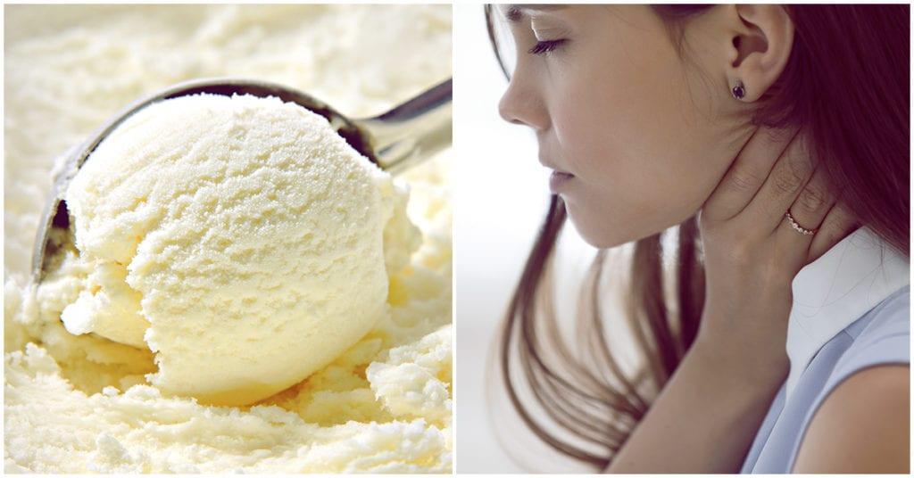 Alimentos que te pueden ayudar con el dolor de garganta