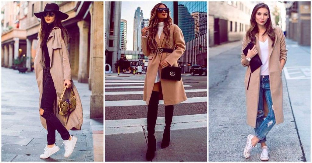 Cómo llevar tu abrigo camel como una experta