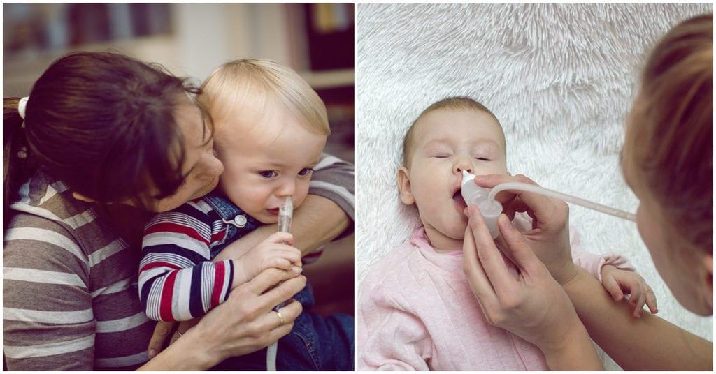 Remedios para la congestión nasal de los niños
