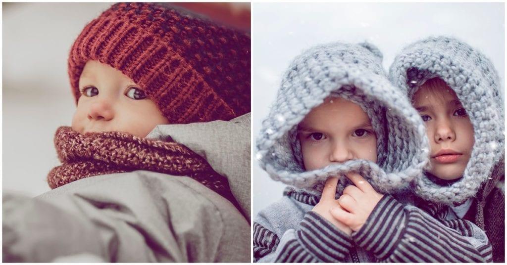 Cómo cuidar y vestir a tu bebé en época de invierno