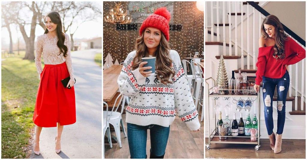 Errores comunes que todas cometemos al vestirnos el día de Navidad