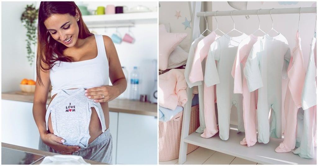 Lista de ropa imprescindible para tu recién nacido