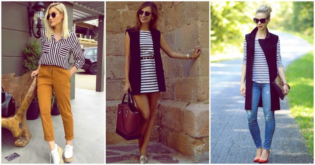 Cómo llevar un outfit a rayas con éxito