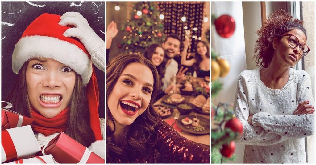 Tipos de personas que siempre encuentras en las fechas decembrinas