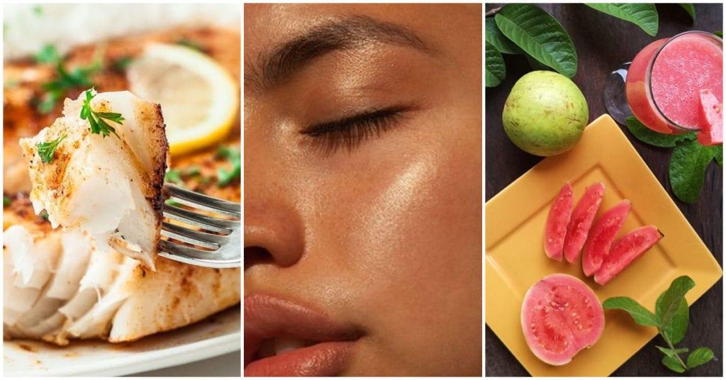 7 Alimentos que le ayudan a tu piel y casi no comes