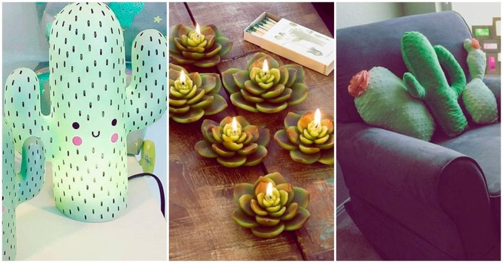 Los mejores accesorios para las amantes de los cactus