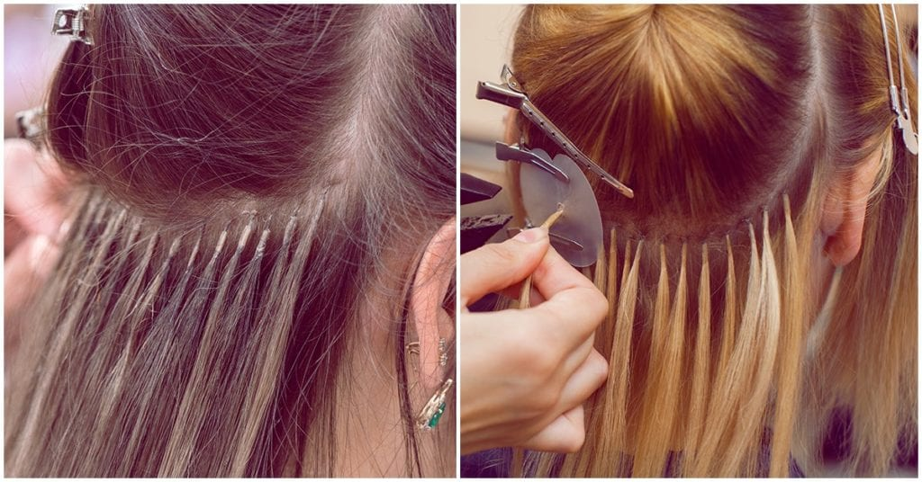 El lado oscuro de las extensiones para el cabello