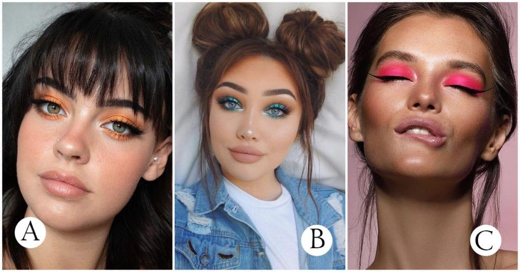 Cómo usar colores brillantes en tu maquillaje sin lucir exagerada