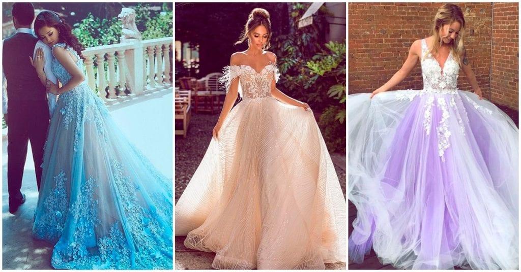 Los mejores vestidos de novia y no, no son blancos