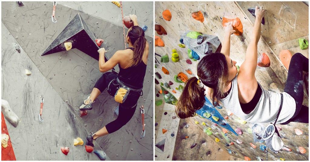Bouldering, el ejercicio de escalada que te hará más fuerte sin que te des cuenta