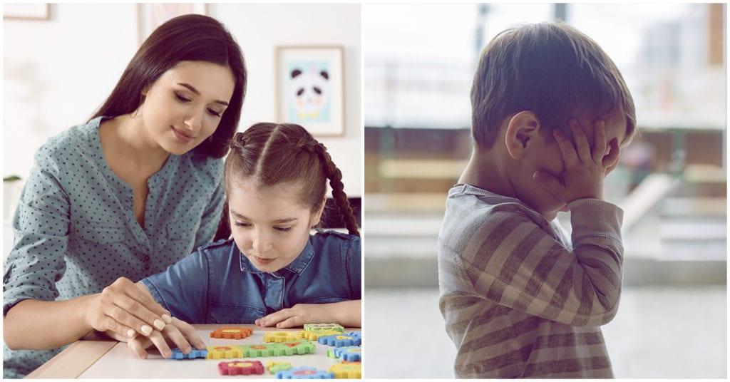 Niños autistas: Estos son los síntomas más frecuentes