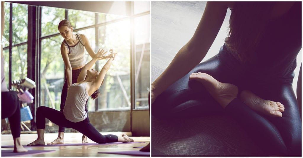 Yoga para principiantes : dolor bueno vs dolor malo
