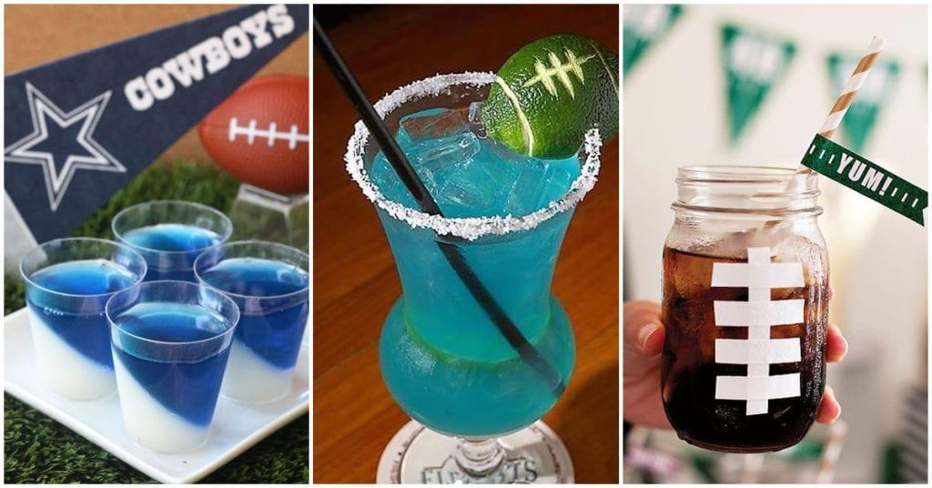 Bebidas ideales para ver el super bowl sin que se te infle el estomago