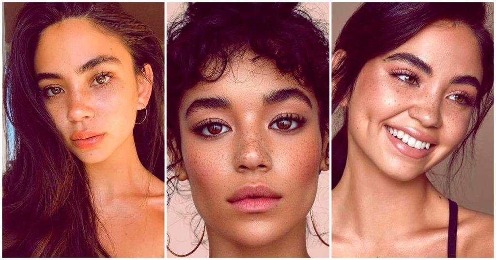 Cómo maquillarte si eres una chica con pecas