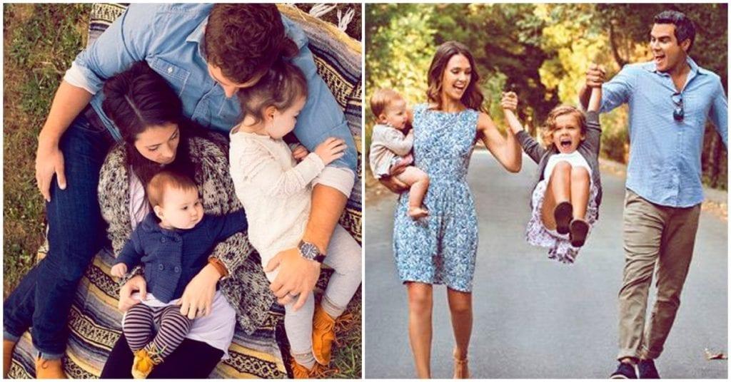 No tendré una familia perfecta, pero sé que soy muy afortunada de tenerlos en mi vida