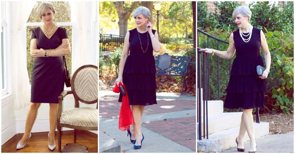 Cómo llevar tu little black dress a tus 40 luciendo guapísima