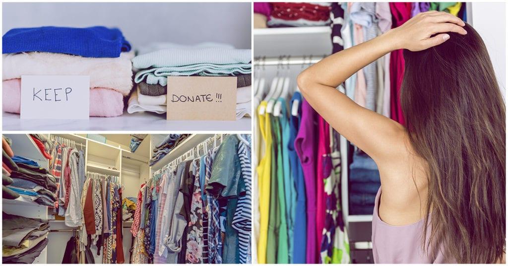 7 cosas que tienes que sacar este año de tu closet