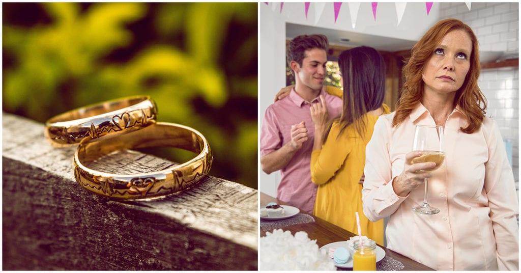 Mi suegra empeño nuestros anillos de matrimonio