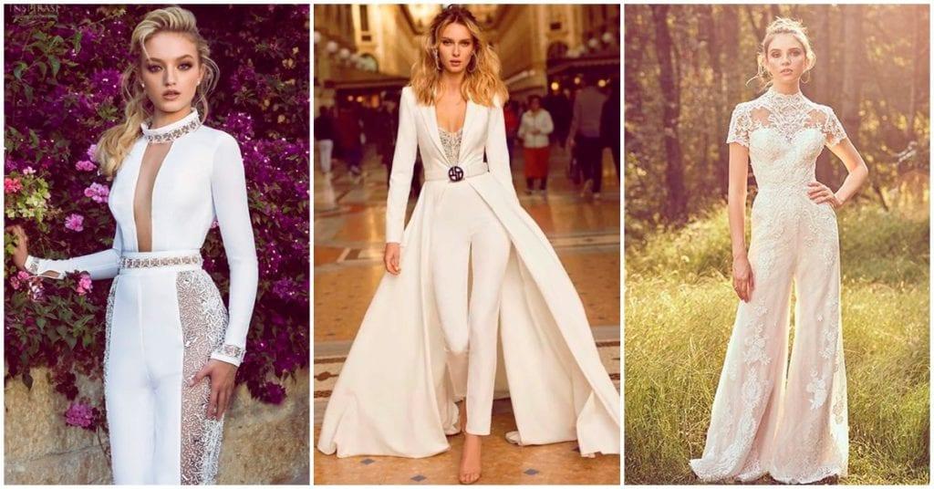 Cómo casarte sin usar el típico vestido blanco
