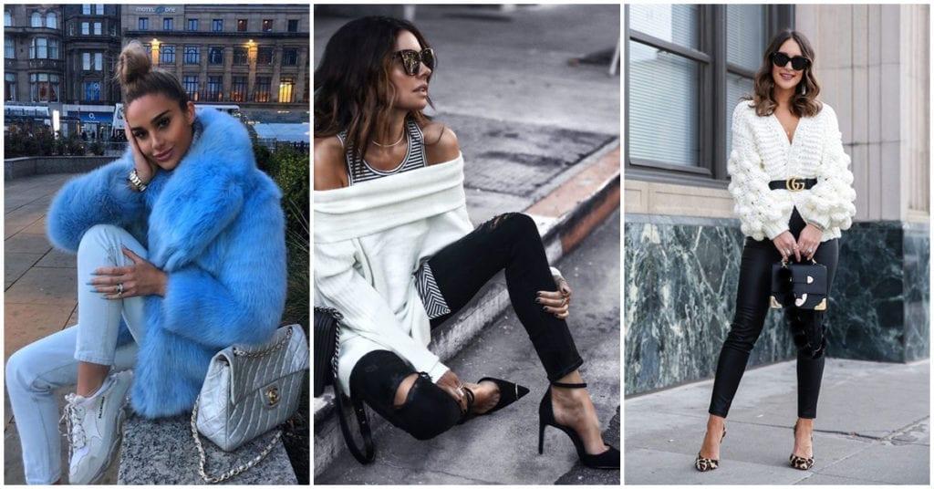 Outfit para un cita de noche… cuando hace mucho frío