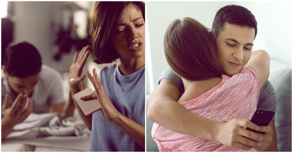 Las mujeres intuimos cuando él se enamora de otra
