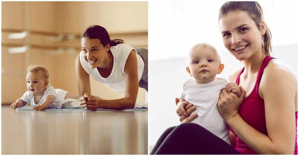 La realidad de las primeras semanas de ejercicio post parto