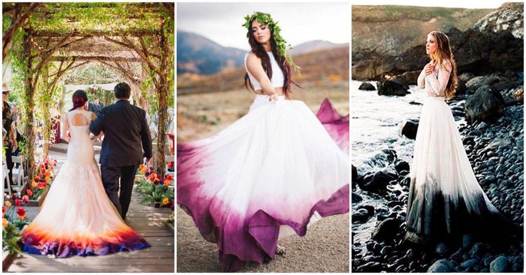 Vestidos de novia Ombré ¿te gusta la idea?